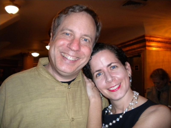 Jimmy Roberts and Lisa Ferber