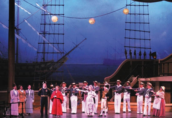 Photo Flash: New York Gilbert & Sullivan Players Debut A New Production of  RUDDIGORE Inspired by Edward Gorey Illustrations