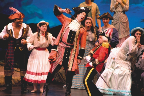 Chris-Ian Sanchez, Rebecca O'Sullivan, David Wannen as The Pirate King, Dianna Dollman, Stephen Quint as Major General Stanley, James Mills, and Sarah Caldwell Smith