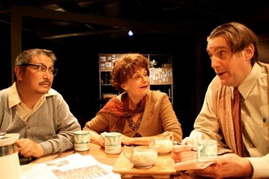 Ed Ramolete, Lynn Milgrim, and David Fruechting Photo