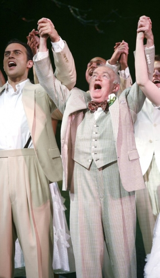 Photo Coverage: FINIAN'S RAINBOW Celebrates Opening Night on Broadway - Curtain Call!
