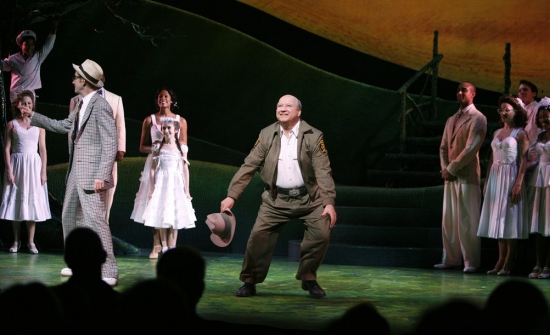 William Youmans and Brian Reddy at FINIAN'S RAINBOW Celebrates Opening Night on Broadway - Curtain Call!