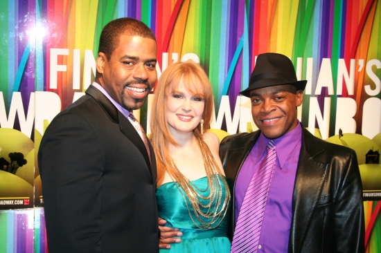 Bernard Dotson, Kate Baldwin and Devin Richards