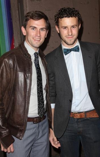 Daniel Reichard and Christopher Spaulding Photo