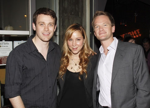 Michael Arden, Becky Baeling and Neil Patrick Harris at Upright Cabaret