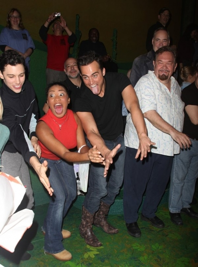 Photo Coverage: FINIAN'S RAINBOW's Big Opening Night  - The Gypsy Robe Ceremony!