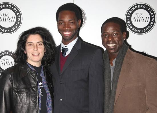 Tina Landau, Tarell Alvin McCraney and Sterling K. Brown