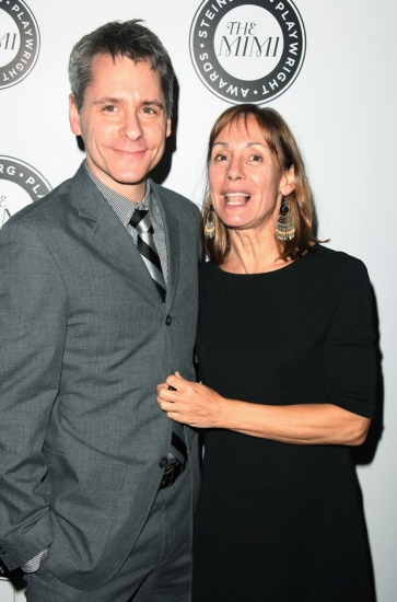 Bruce Norris and Laurie Metcalf