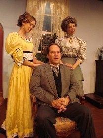Photo Flash: MY THREE ANGELS At Attic Playhouse