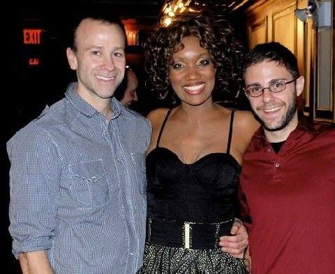 Mark Selva, April Nixon and Ian Weiss