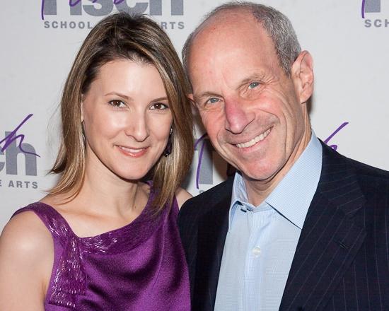 Lizzie Tisch and Jonathan Tisch