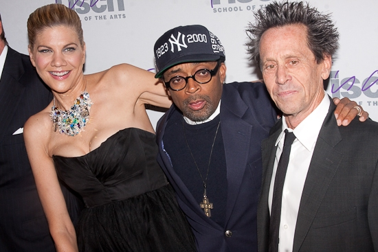 Kristen Johnston, Spike Lee, and Brian Grazer at 'THIS IS TISCH!' 2009 Honors Gala Event