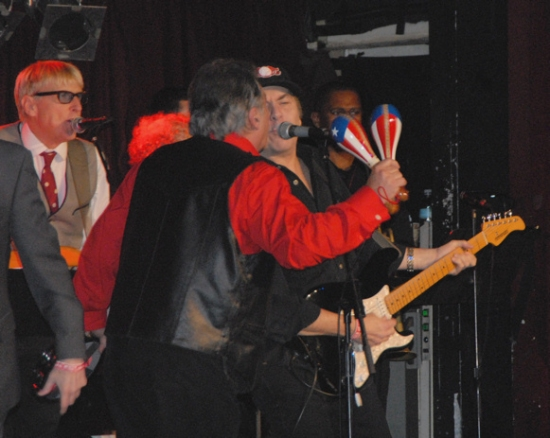 The Young Rascals-Will Lee, Eddie Brigati and Gene Cornish at ROCKERS ON BROADWAY 2009 - Performance!