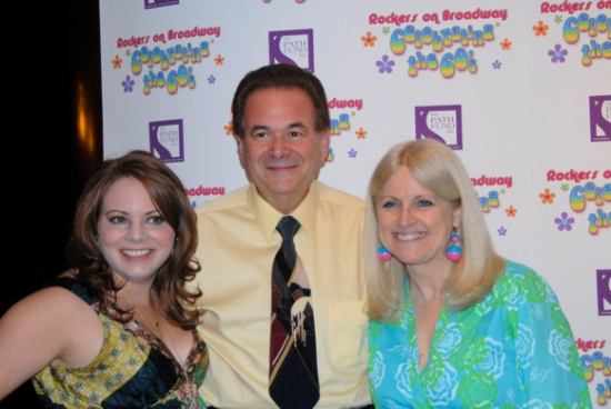 Cori Gardner, Jeff Davis (Sponsor) and Sandy Hicks at ROCKERS ON BROADWAY - Arrivals and Backstage