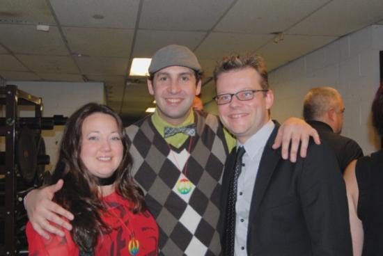 Kathy Deitch, Ben Cameron, and Jeremy Kushnier