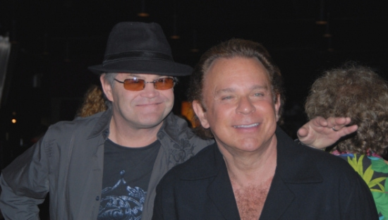 Micky Dolenz and Lou Christie at ROCKERS ON BROADWAY - Arrivals and Backstage