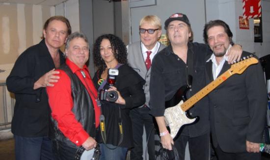 Lou Christie, Eddie Brigati, Dina Regine, Will Lee, Gene Cornish and Angel Rissoff