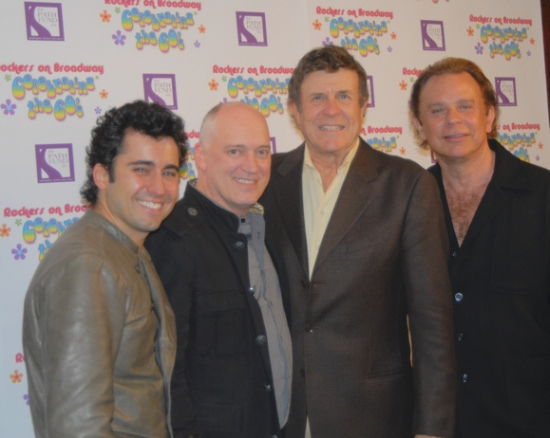 John Lloyd Young, Donnie Kehr Cousin Bruce Morrow and Lou Christie