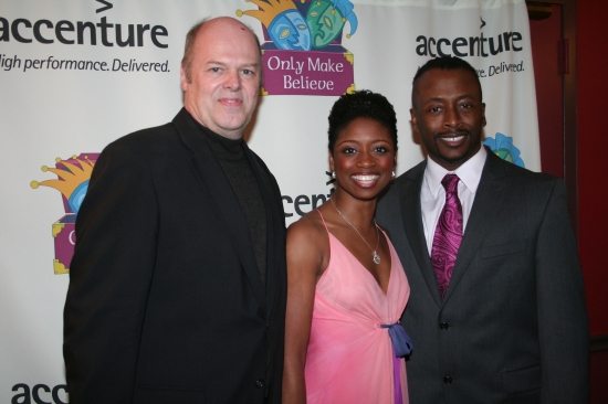 Randy Adams, Montego Glover and Kenny J. Seymour