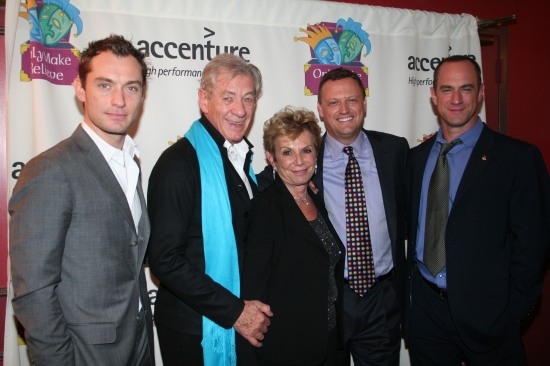 Jude Law, Sir Ian McKellen, Dena Hammerstein, Chris Wearing