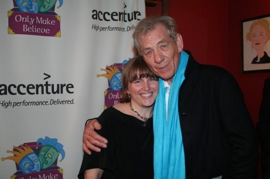 Lee Armitage and Sir Ian McKellen