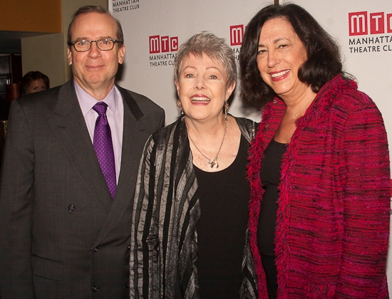 Barry Grove, Lynn Redgrave and Lynne Meadow
