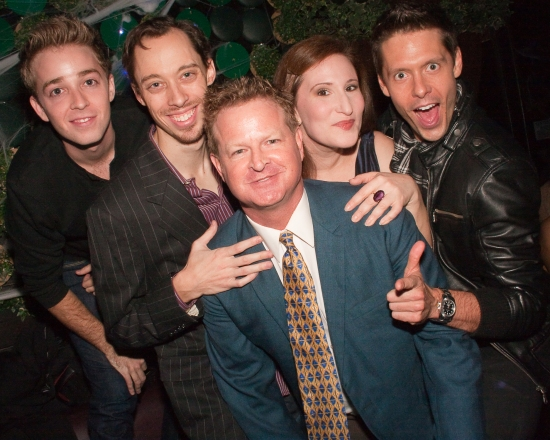 Andrew Shaifer with Cast Members Alex Anfanger, Kevin Thomas Collins, Maia Madison and Matthew Bondy
