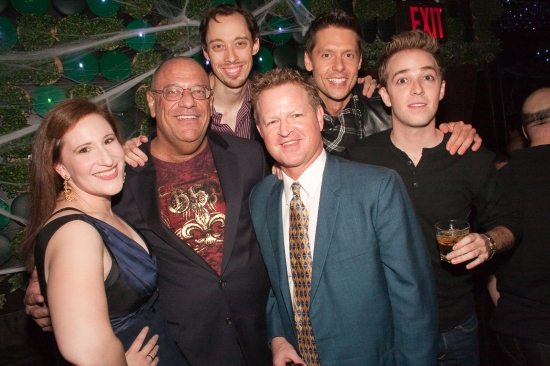Playwright Jay Bernzweig and Director Andrew Shaifer with Cast Maia Madison, Kevin Thomas Collins, Matthew Bondy and Alex Anfanger