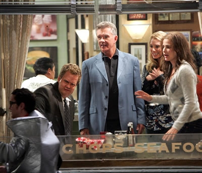 Neil Patrick Harris, Alan Thicke, guest and Cobie Smulders Photo