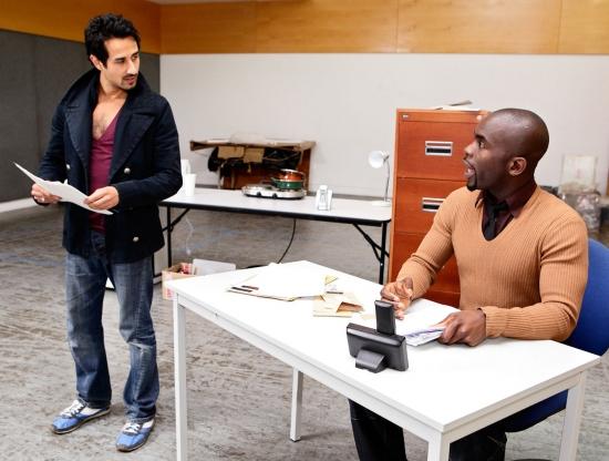 Abhin Galeya and Jimmy Akingbola