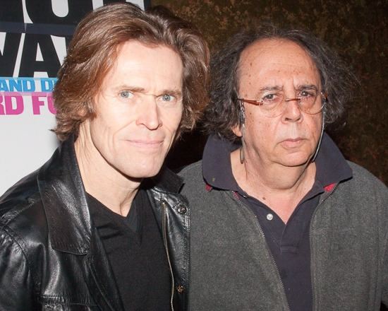 Willem Dafoe and Richard Foreman