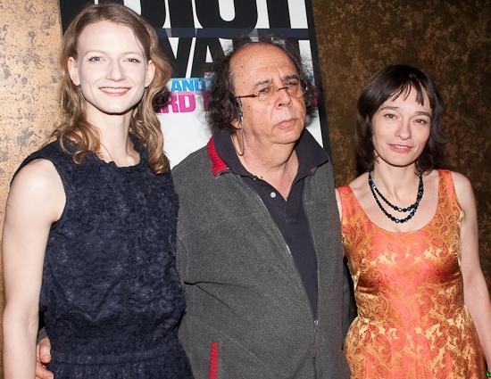 Alenka Kraigher, Richard Foreman, and Elina L�'¶wensohn