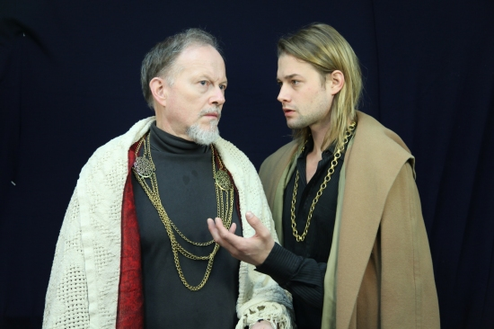 Peter Von Berg as Baron and Brandon Ruckdashel