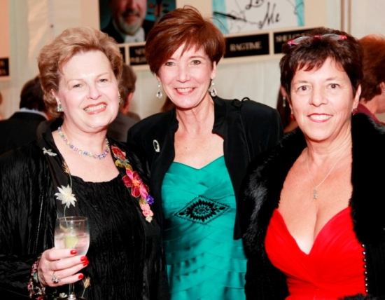 Karen Parrella (Weston), Sandy DeFeo (Westport), Ann Sheffer