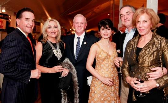 Mark and Angela Graham (Fairfield), John and Katia Friend (Westport), Zachary Moreowitz (Fairfield), Julie Brown