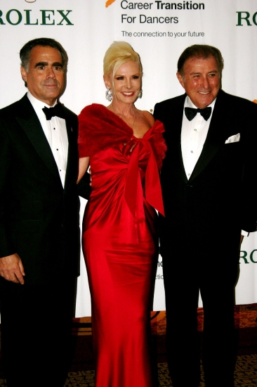 Allen Brill, Michele and Lawrence Herbert