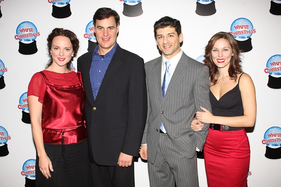 Melissa Errico, James Clow, Tony Yazbeck, and Judy Haynes