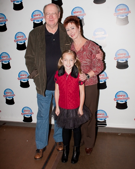 David Ogden Stiers, Ruth Williamson, and Susan Waverly at 'WHITE CHRISTMAS' Holds A Festive Broadway Sneak Peek!
