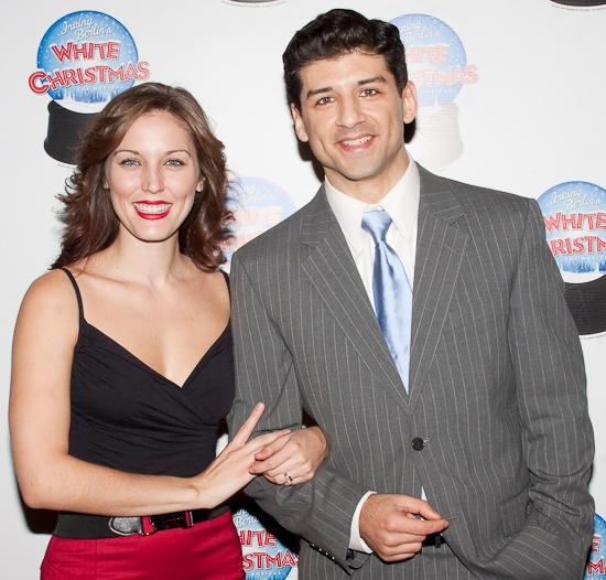 Photo Coverage: 'WHITE CHRISTMAS' Holds A Festive Broadway Sneak Peek!