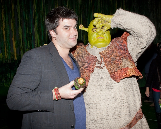 Photo Flashback: SHREK THE MUSICAL Celebrates One Year on Broadway and Bids Star Brian d'Arcy James Farewell