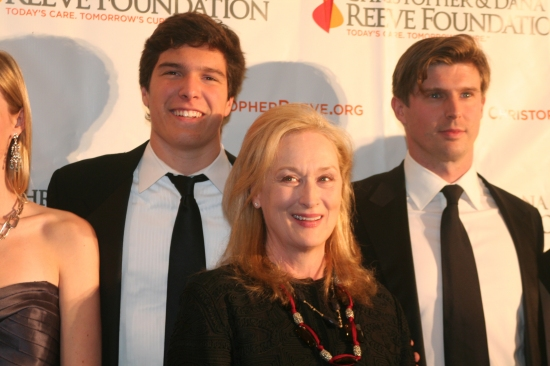, Meryl Streep and Matthew Reeve