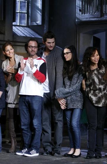 John Krasinski, Rachel Dratch, Eva Mendes, Fisher Stevens, Ashton Kutcher, Demi Moore and Rosie Perez