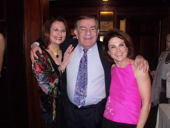 Randie Levine-Miller, Dean Freddie Roman and  Tovah Feldshuh