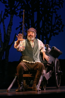 A Road Weary Fiddler On The Roof