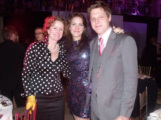 Lisa Banes, Rosie Benton and H Clark at The Hetrick-Martin Institute's 2009 Annual Emery Awards