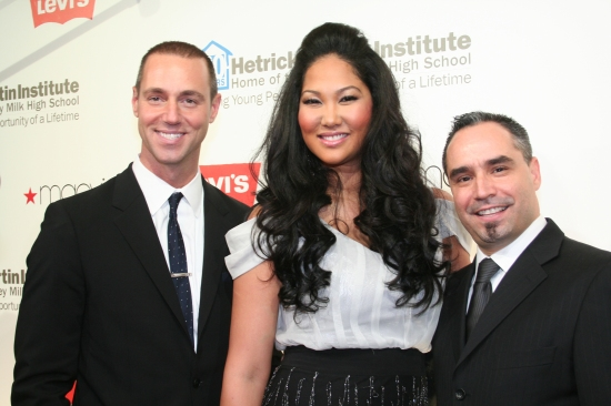 Rob Smith, Kimora Lee Simmons and Thomas Krever