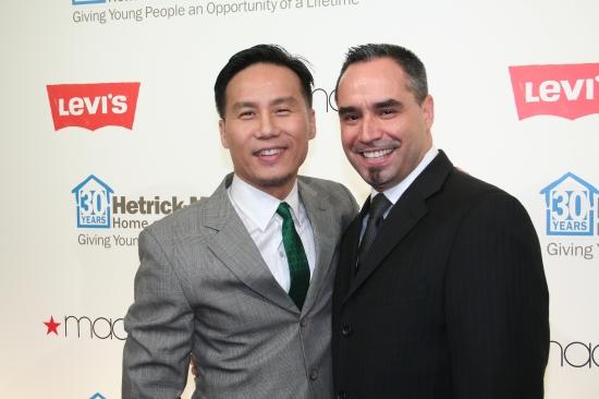 B.D. Wong and Thomas Krever
