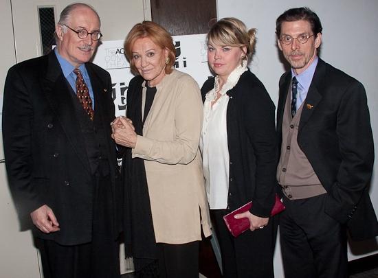 Simon Jones, Cynthia Harris, Jenn Thompson and Scott Alan Evans
