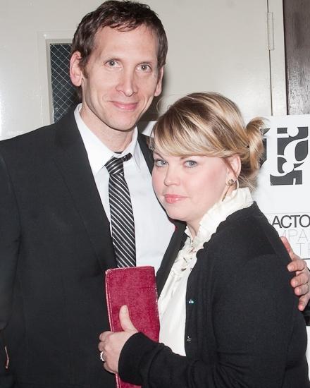 Stephen Kunken and Jenn Thompson