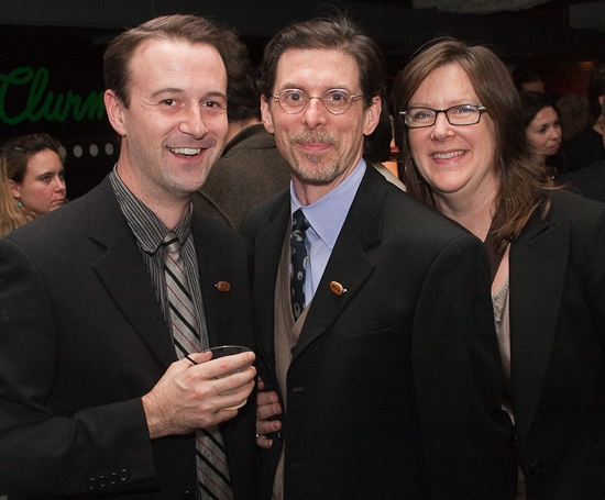 Greg McFadden, Scott Alan Evans and Mary Louise Geiger